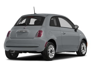 Billet Argento (Silver) 2015 FIAT 500 Pictures 500 Hatchback 3D Sport I4 photos rear view