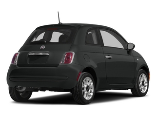 Nero Puro (Straight Black) 2015 FIAT 500 Pictures 500 Hatchback 3D Sport I4 photos rear view