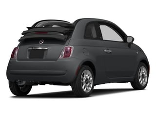 Granito Lucente (Granite Crystal) 2015 FIAT 500c Pictures 500c Convertible 2D Lounge I4 photos rear view