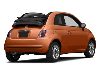 Rame (Copper) 2015 FIAT 500c Pictures 500c Convertible 2D Lounge I4 photos rear view
