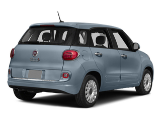 Blu Chiaro (Light Blue) 2015 FIAT 500L Pictures 500L Hatchback 5D L Easy I4 Turbo photos rear view