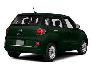 Verde Bosco Perla (Forest Green) 2015 FIAT 500L Pictures 500L Hatchback 5D L Easy I4 Turbo photos rear view
