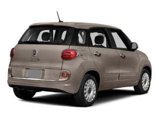 Mocha Latte 2015 FIAT 500L Pictures 500L Hatchback 5D L Easy I4 Turbo photos rear view