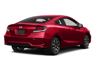 Rallye Red 2015 Honda Civic Coupe Pictures Civic Coupe 2D EX-L I4 photos rear view
