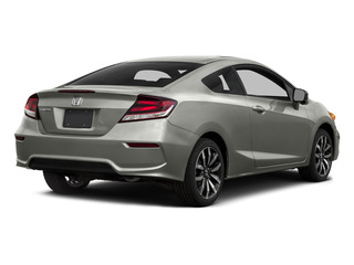 Alabaster Silver Metallic 2015 Honda Civic Coupe Pictures Civic Coupe 2D EX-L I4 photos rear view