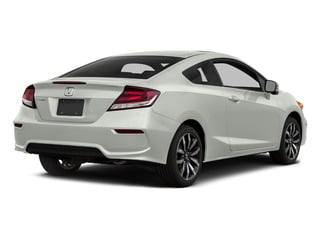 Taffeta White 2015 Honda Civic Coupe Pictures Civic Coupe 2D EX-L I4 photos rear view