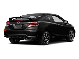 Crystal Black Pearl 2015 Honda Civic Coupe Pictures Civic Coupe 2D Si I4 photos rear view