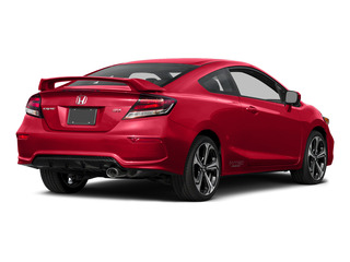 Rallye Red 2015 Honda Civic Coupe Pictures Civic Coupe 2D Si I4 photos rear view