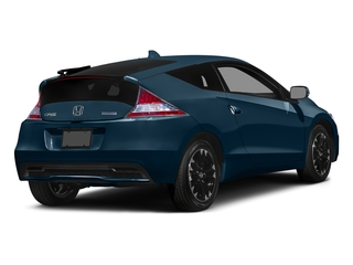 North Shore Blue Pearl 2015 Honda CR-Z Pictures CR-Z Coupe 2D EX I4 Hybrid photos rear view
