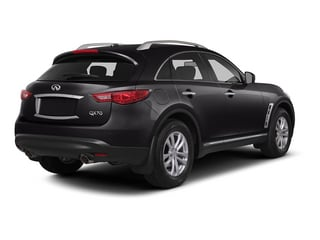 Malbec Black 2015 INFINITI QX70 Pictures QX70 Utility 4D AWD V6 photos rear view