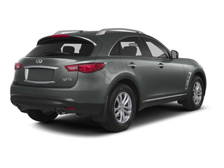 Graphite Shadow 2015 INFINITI QX70 Pictures QX70 Utility 4D 2WD V6 photos rear view