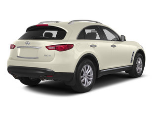 Moonlight White 2015 INFINITI QX70 Pictures QX70 Utility 4D 2WD V6 photos rear view