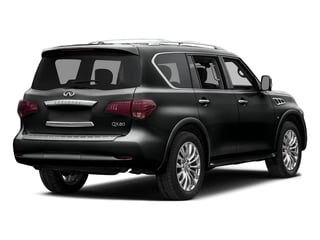 Imperial Black 2015 INFINITI QX80 Pictures QX80 Utility 4D AWD V8 photos rear view
