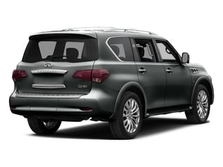Graphite Shadow 2015 INFINITI QX80 Pictures QX80 Utility 4D AWD V8 photos rear view