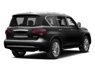 Black Obsidian 2015 INFINITI QX80 Pictures QX80 Utility 4D AWD V8 photos rear view