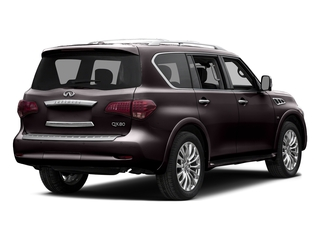 Dark Currant 2015 INFINITI QX80 Pictures QX80 Utility 4D AWD V8 photos rear view