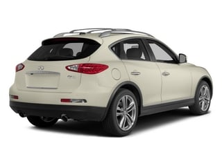 Moonlight White 2015 INFINITI QX50 Pictures QX50 Utility 4D 2WD V6 photos rear view