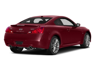 Venetian Ruby 2015 INFINITI Q60 Coupe Pictures Q60 Coupe 2D AWD V6 photos rear view