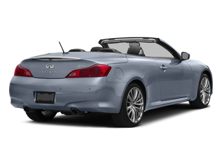 Hagane Blue 2015 INFINITI Q60 Convertible Pictures Q60 Convertible Convertible 2D V6 photos rear view