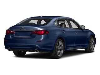 Hermosa Blue 2015 INFINITI Q70L Pictures Q70L Sedan 4D LWB AWD V8 photos rear view
