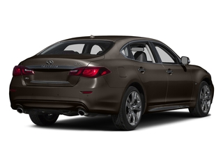 Chestnut Bronze 2015 INFINITI Q70L Pictures Q70L Sedan 4D LWB AWD V8 photos rear view