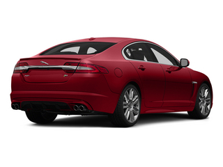 Italian Racing Red 2015 Jaguar XF Pictures XF Sedan 4D XFR V8 Supercharged photos rear view
