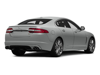Rhodium Silver Metallic 2015 Jaguar XF Pictures XF Sedan 4D XFR V8 Supercharged photos rear view