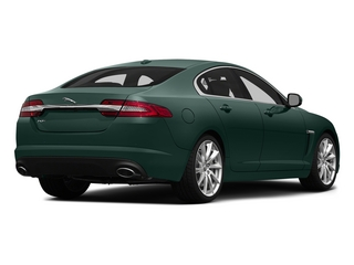 British Racing Green 2015 Jaguar XF Pictures XF Sedan 4D V8 Supercharged photos rear view