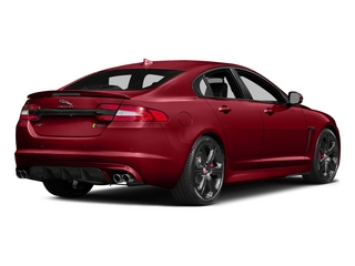 Italian Racing Red 2015 Jaguar XF Pictures XF Sedan 4D XFR-S V8 Supercharged photos rear view