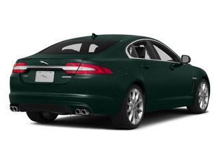 British Racing Green 2015 Jaguar XF Pictures XF Sedan 4D Sport V6 Supercharged photos rear view
