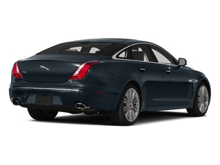 Dark Sapphire Metallic 2015 Jaguar XJ Pictures XJ Sedan 4D V6 photos rear view