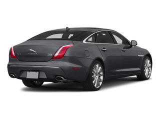 Stratus Gray Metallic 2015 Jaguar XJ Pictures XJ Sedan 4D L Supercharged Speed V8 photos rear view