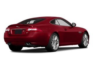 Italian Racing Red 2015 Jaguar XK Pictures XK Coupe 2D XKR V8 Supercharged photos rear view
