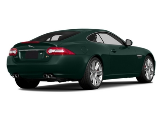 British Racing Green 2015 Jaguar XK Pictures XK Coupe 2D XKR V8 Supercharged photos rear view