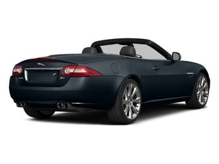 Dark Sapphire Metallic 2015 Jaguar XK Pictures XK Convertible 2D XKR V8 Supercharged photos rear view