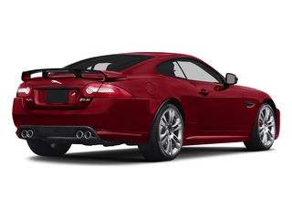 Italian Racing Red 2015 Jaguar XK Pictures XK Coupe 2D XKR-S V8 Supercharged photos rear view