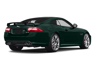 British Racing Green 2015 Jaguar XK Pictures XK Coupe 2D XKR-S V8 Supercharged photos rear view