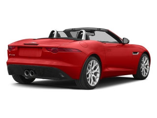 Salsa Red 2015 Jaguar F-TYPE Pictures F-TYPE Convertible 2D V6 photos rear view