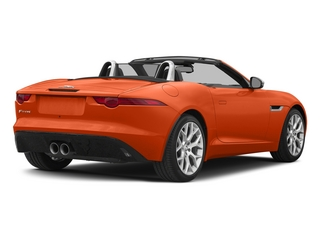 Firesand Metallic 2015 Jaguar F-TYPE Pictures F-TYPE Convertible 2D V6 photos rear view