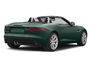 British Racing Green 2015 Jaguar F-TYPE Pictures F-TYPE Convertible 2D V6 photos rear view