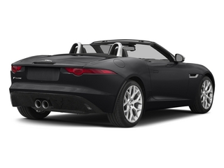 Ebony 2015 Jaguar F-TYPE Pictures F-TYPE Convertible 2D V6 photos rear view
