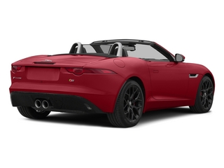 Italian Racing Red 2015 Jaguar F-TYPE Pictures F-TYPE Convertible 2D S V6 photos rear view