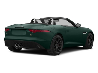 British Racing Green 2015 Jaguar F-TYPE Pictures F-TYPE Convertible 2D S V6 photos rear view