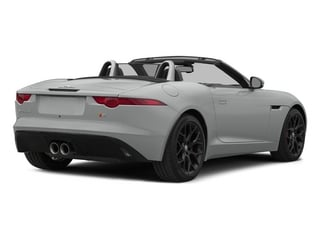 Rhodium Silver Metallic 2015 Jaguar F-TYPE Pictures F-TYPE Convertible 2D S V6 photos rear view