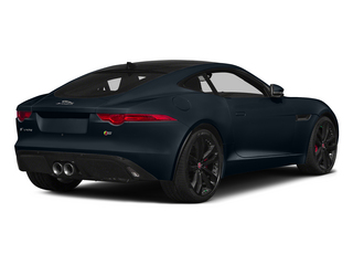Dark Sapphire Metallic 2015 Jaguar F-TYPE Pictures F-TYPE Coupe 2D R V8 photos rear view