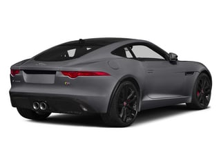 Lunar Gray Metallic 2015 Jaguar F-TYPE Pictures F-TYPE Coupe 2D S V6 photos rear view