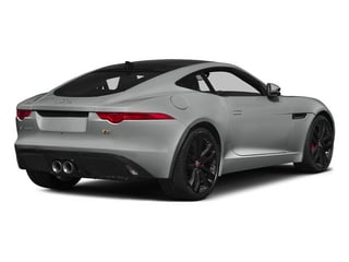 Rhodium Silver Metallic 2015 Jaguar F-TYPE Pictures F-TYPE Coupe 2D S V6 photos rear view