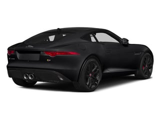 Ebony 2015 Jaguar F-TYPE Pictures F-TYPE Coupe 2D S V6 photos rear view