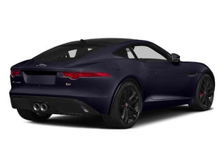 Black Amethyst Metallic 2015 Jaguar F-TYPE Pictures F-TYPE Coupe 2D S V6 photos rear view