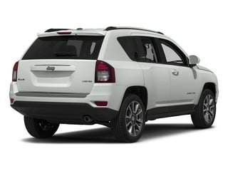 Bright White Clearcoat 2015 Jeep Compass Pictures Compass Utility 4D Latitude 2WD photos rear view